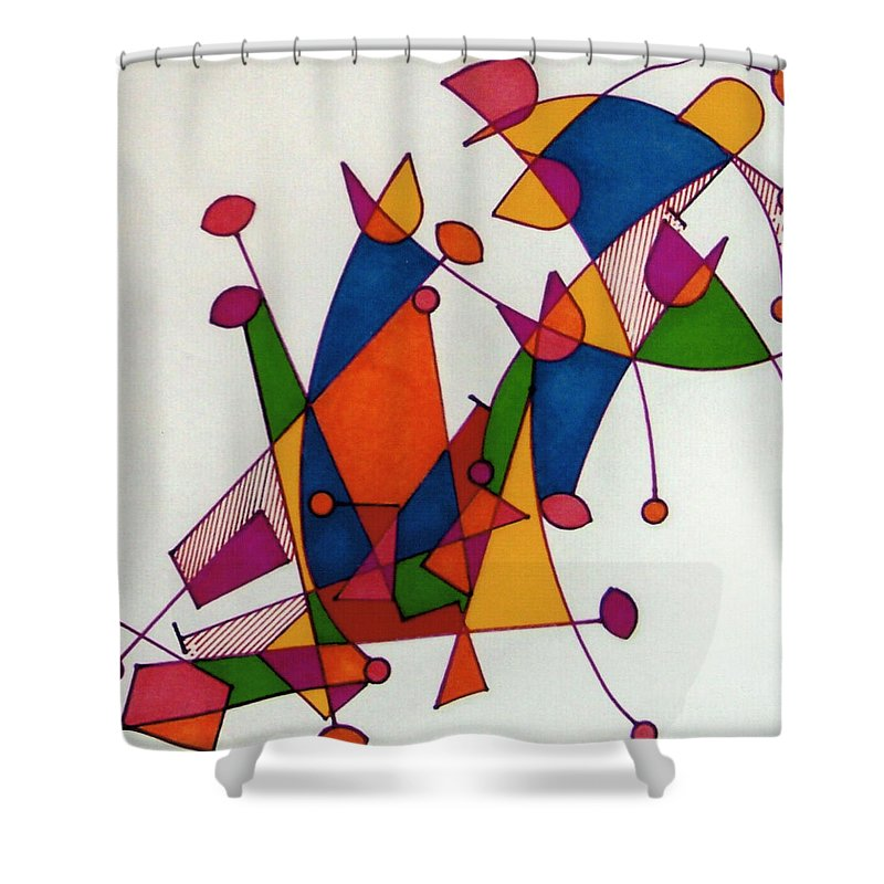 Lasting Dance Shower Curtain featuring the photograph Rfb0587 by Robert F Battles