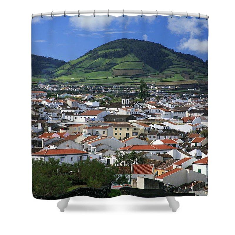 Azores Shower Curtain featuring the photograph Ribeira Grande by Gaspar Avila