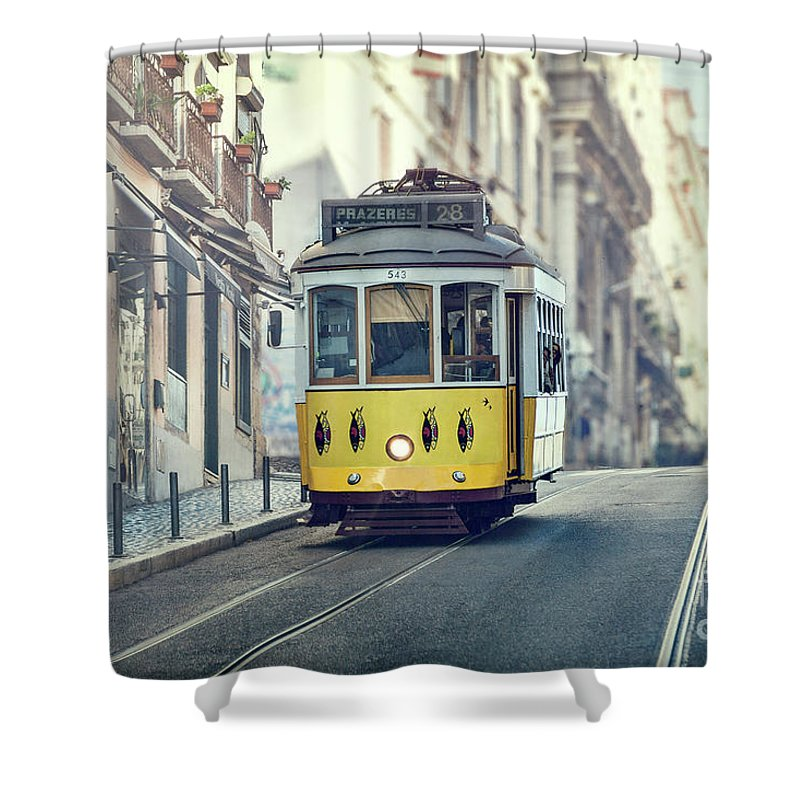 Kremsdorf Shower Curtain featuring the photograph Ride These Streets by Evelina Kremsdorf