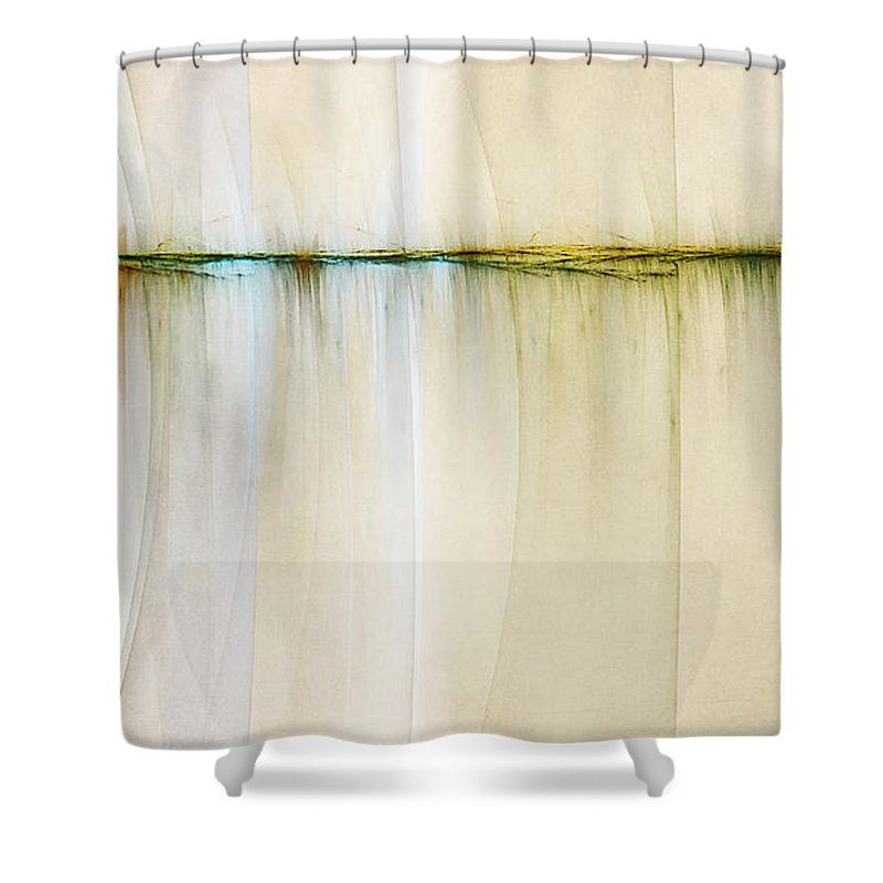 Digital Artwork Shower Curtain featuring the digital art Rift In Time by Scott Norris