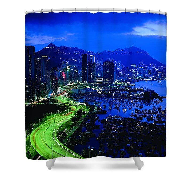 Rio De Janeiro Shower Curtain featuring the digital art Rio De Janeiro by Mery Moon