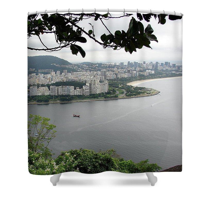 Rio De Janeiro Shower Curtain featuring the photograph Rio De Janeiro Vii by Brett Winn