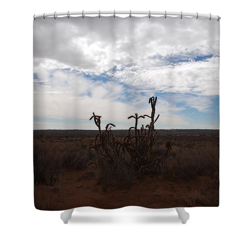 New Mexico Shower Curtain featuring the photograph Rio Rancho New Mexico by Rob Hans