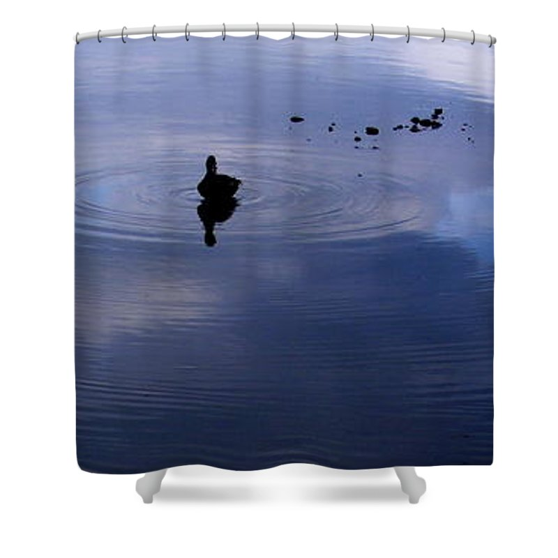 Ripples Shower Curtain featuring the photograph Ripples by Ed Smith