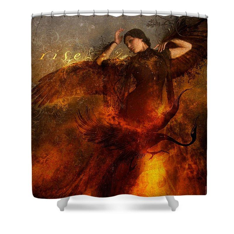 Phoenix Shower Curtains