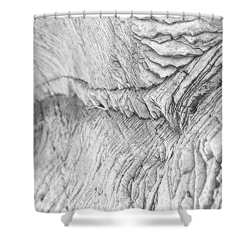 Rock Shower Curtain featuring the photograph River Of Rock by Nathan Crockett