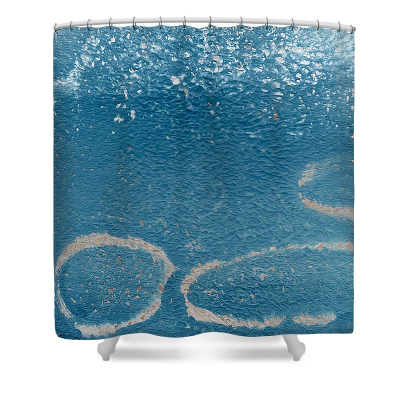 Lake Paintings Shower Curtains
