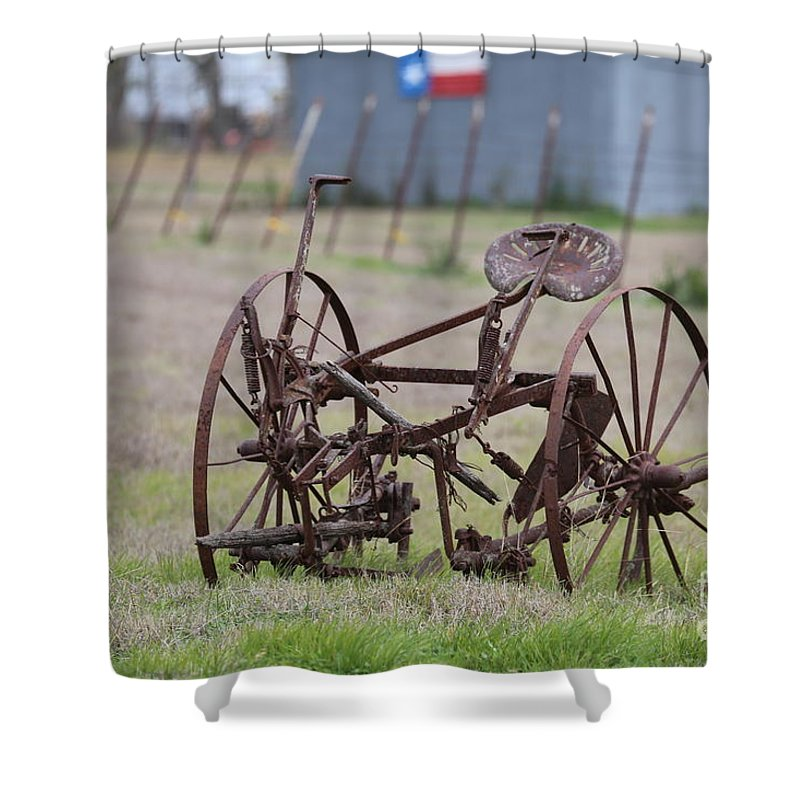 Shower Curtain featuring the photograph Roadside by Jeff Downs