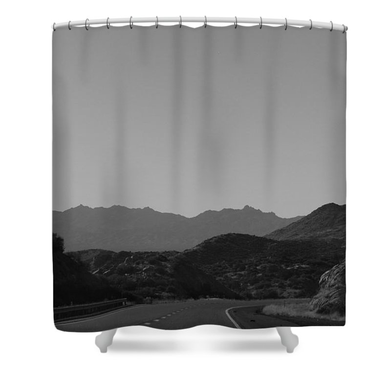 Landscape Shower Curtain featuring the photograph Roadtrip 8 by Meagan Paxton
