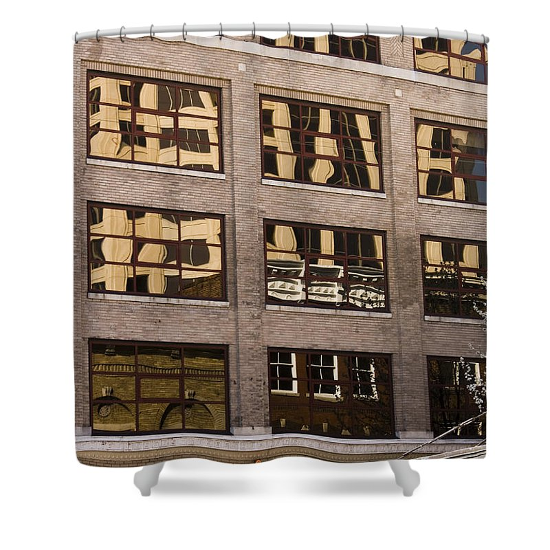 Roanoke Shower Curtain featuring the photograph Roanoke Reflection by Teresa Mucha