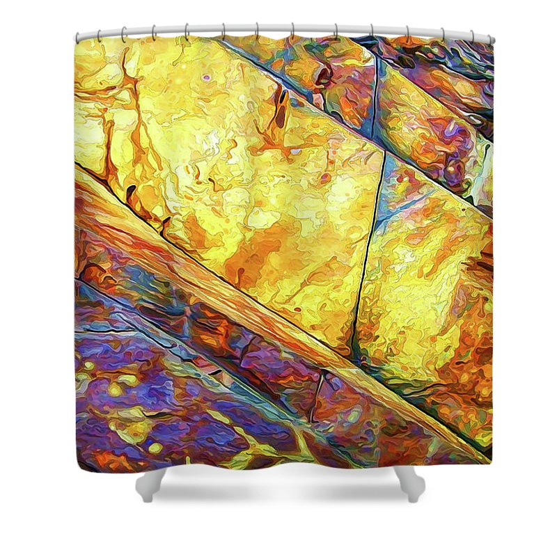 Nature Shower Curtain featuring the photograph Rock Art 23 by ABeautifulSky Photography by Bill Caldwell