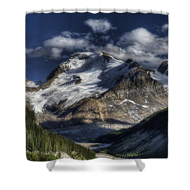 Canada Shower Curtain featuring the photograph Rocky Mountain High by Wayne Sherriff