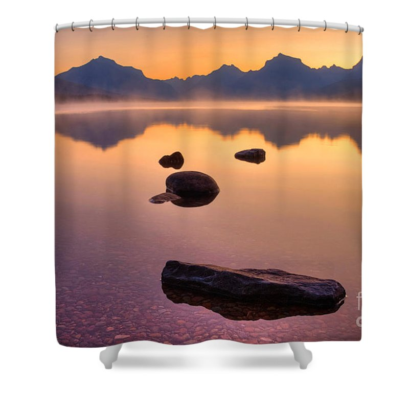 Rocky Mountains Shower Curtain featuring the photograph Rocky Mountain Magic - Seven-o-five by James Anderson