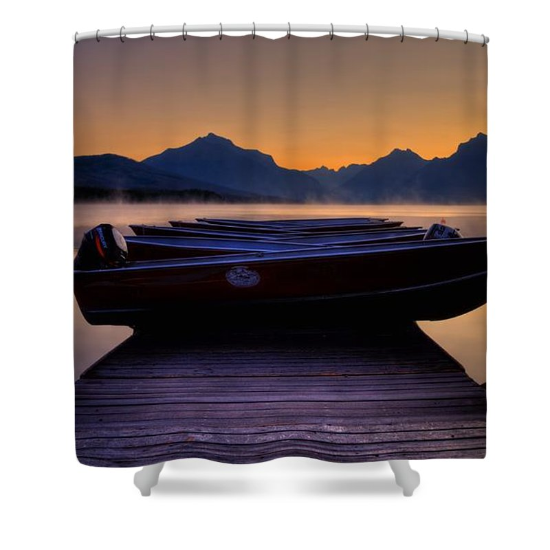 Rocky Mountains Shower Curtain featuring the photograph Rocky Mountain Magic - Seveneleven by James Anderson