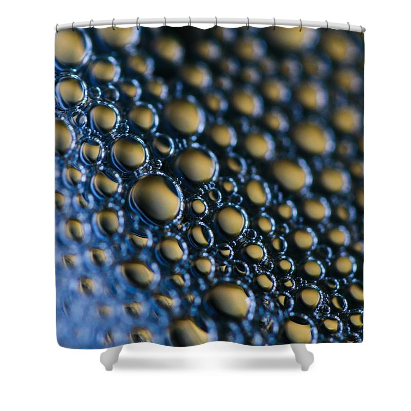 Bubbles Shower Curtain featuring the photograph Rolling Bubbles by Connie Grainger