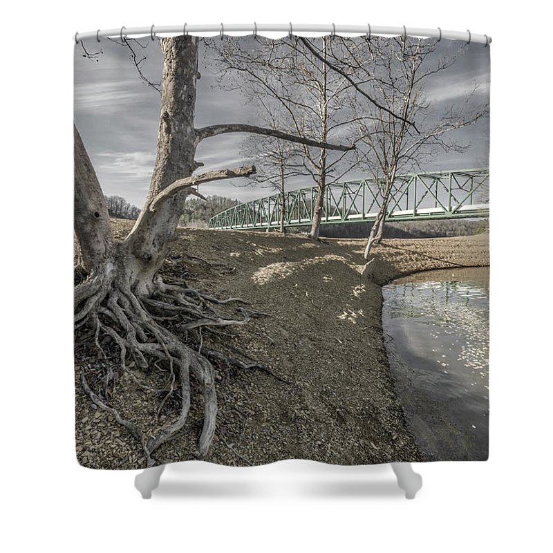 South Holston Lake Shower Curtains