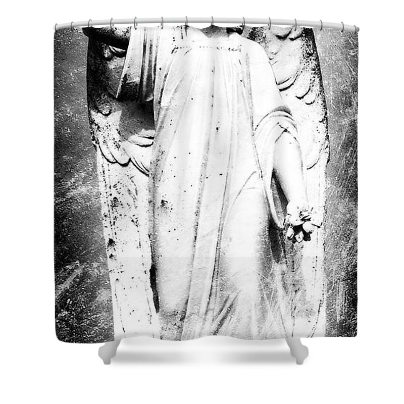 Roscommon Shower Curtain featuring the photograph Roscommon Angel No 2 by Teresa Mucha