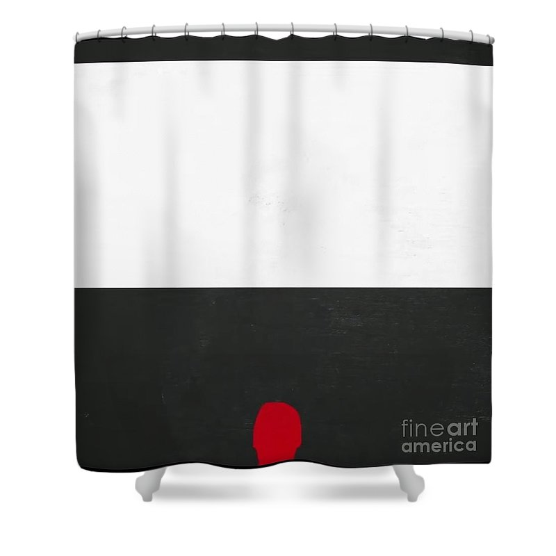 Shower Curtain featuring the painting Rotik by Archangelus Gallery