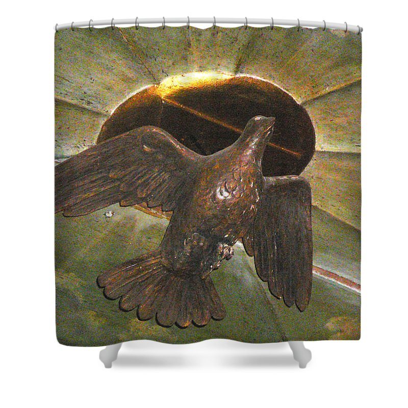 Ruacha Shower Curtain featuring the photograph Ruacha - Ruach - Holy Spirit by Dagmar Batyahav