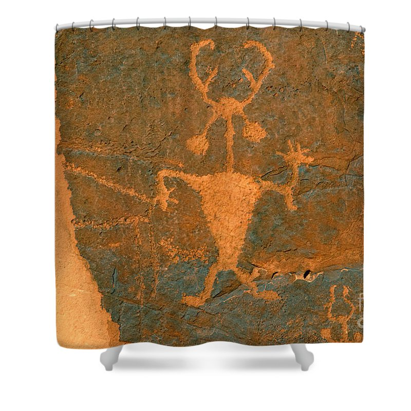 Running Shower Curtain featuring the photograph Running Man by David Lee Thompson