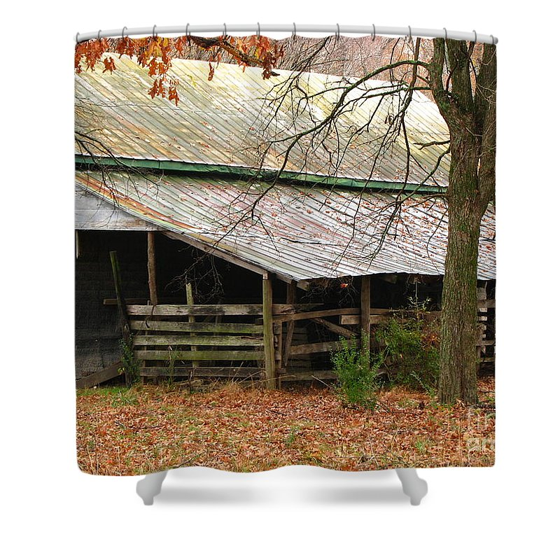 Rural Shower Curtain featuring the photograph Rural by Amanda Barcon