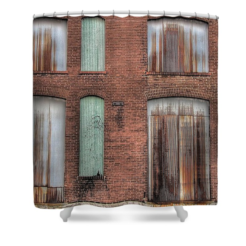 Rust Shower Curtain featuring the photograph Rust Never Sleeps by Jane Linders