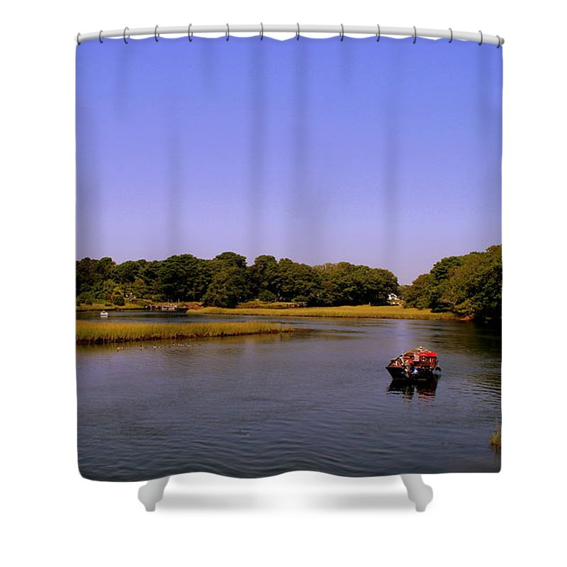 Shower Curtain featuring the photograph Safe Haven by Lennie Malvone