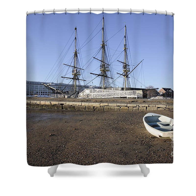 Salem Shower Curtain featuring the photograph Salem Maritime National Historic Site In Salem Massachusetts Usa by Erin Paul Donovan