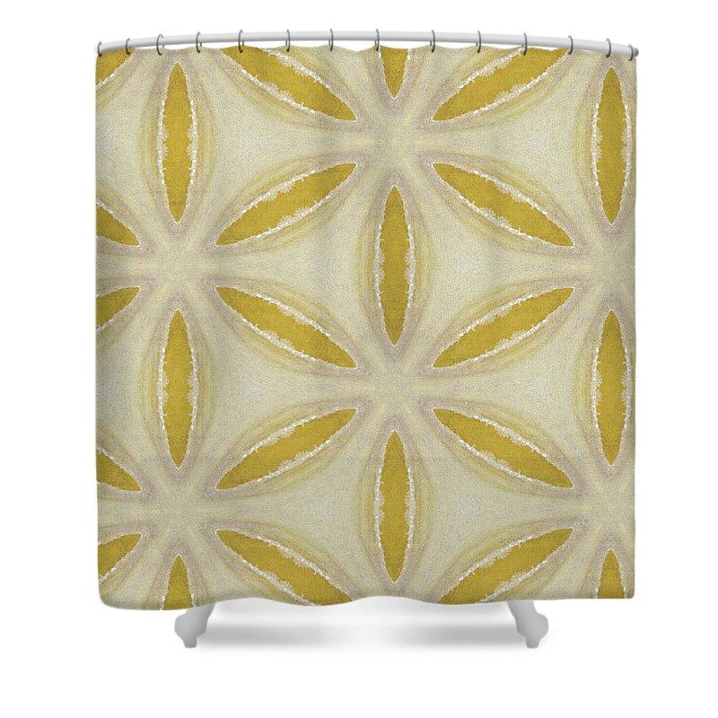 Beautiful Sand Dollar Shower Curtain Featuring The Digital Art Sand Dollar  Art By  Linda Woods By