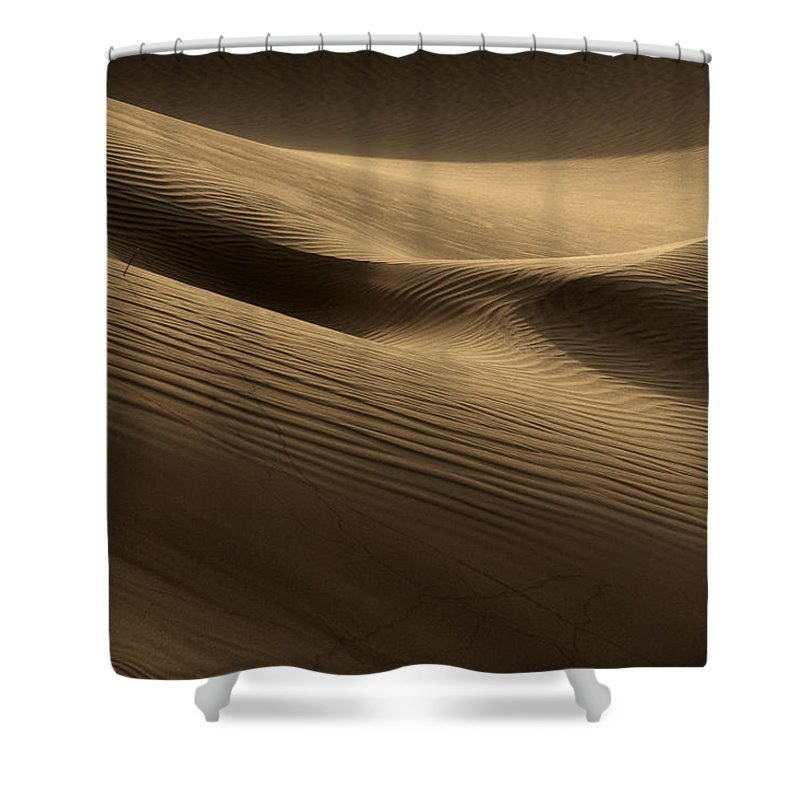 Dunes Shower Curtain featuring the photograph Sand Dune by Phil Crean