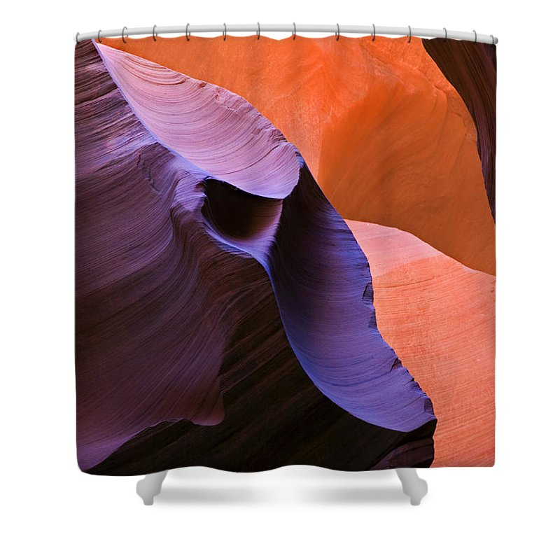 Sandstone Shower Curtain featuring the photograph Sandstone Apparition by Mike Dawson
