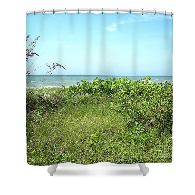 Florida Shower Curtain featuring the photograph Sanibel Island by Chris Andruskiewicz