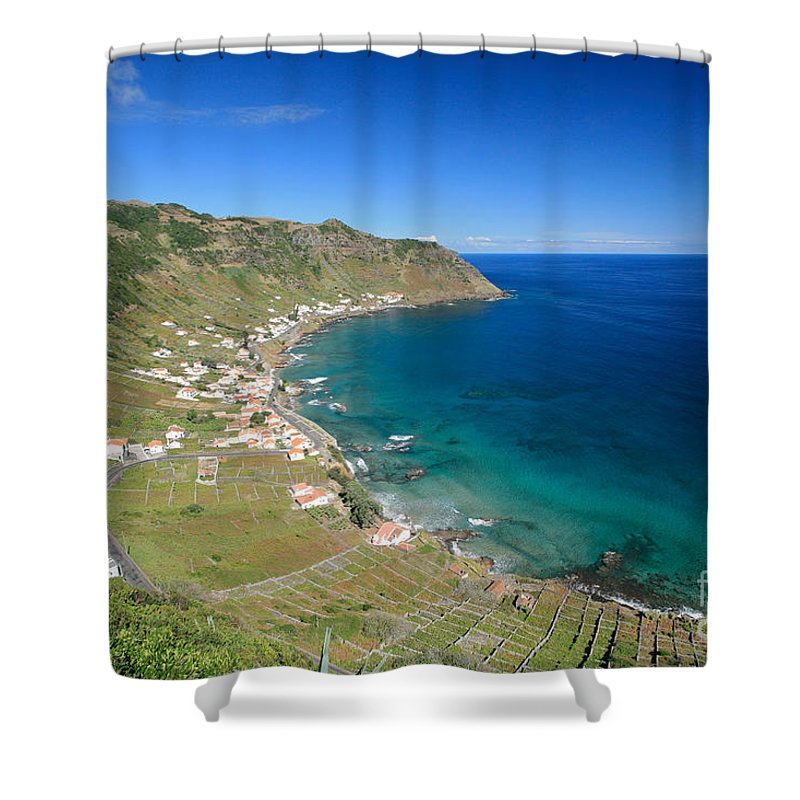 Azores Shower Curtain featuring the photograph Santa Maria Azores II by Gaspar Avila