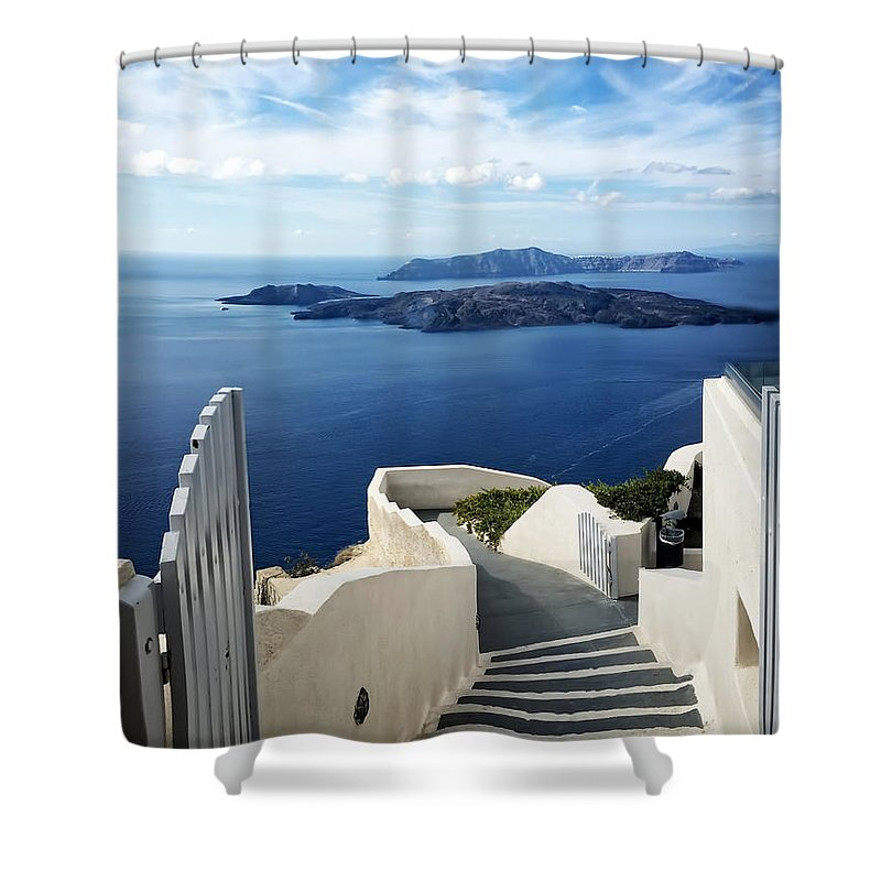 Cyclades Shower Curtains