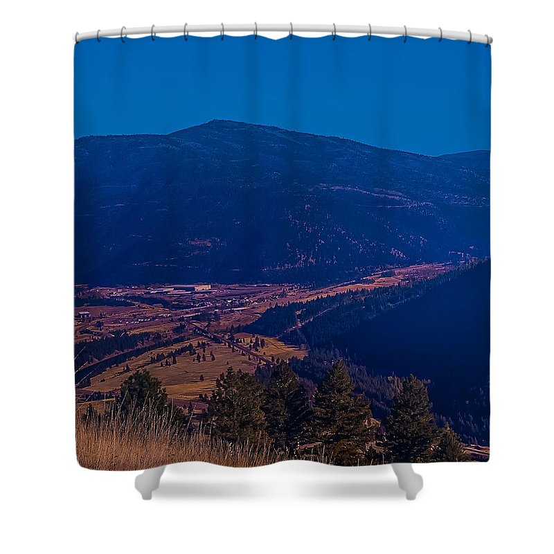 Shower Curtain featuring the photograph Satirical Scene by Dan Hassett