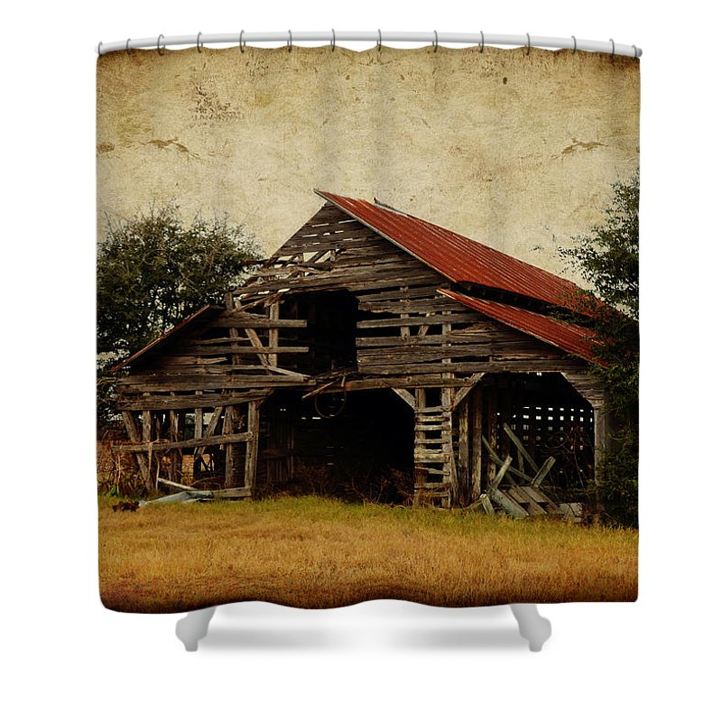 Scene From A Southern Country Road Shower Curtain for Sale by Carla ...