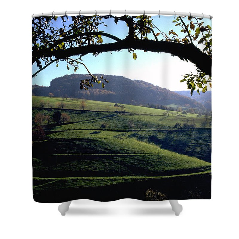 Schwarzwald Shower Curtain featuring the photograph Schwarzwald by Flavia Westerwelle
