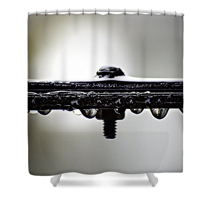 Rain Shower Curtain featuring the photograph Screw This Rain by Lisa Knechtel