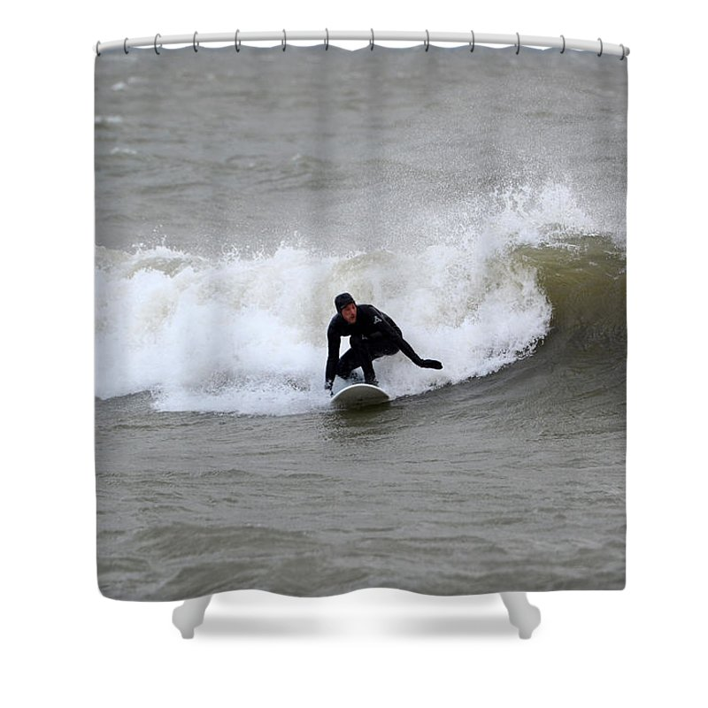 Shower Curtain featuring the photograph Sean 2 by Dave Johnson