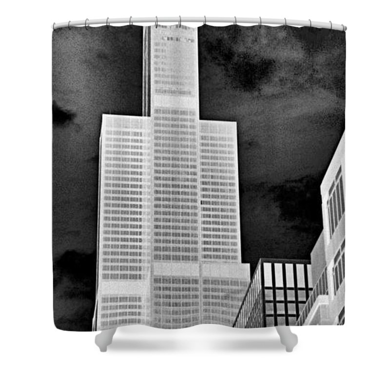 Sears Tower Shower Curtain featuring the photograph Sears Tower by Ely Arsha