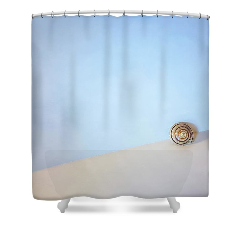 Seashell Shower Curtain Featuring The Photograph By Seashore Scott Norris
