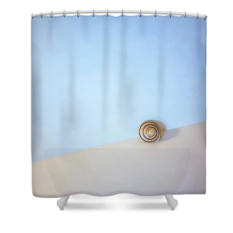 Seashell Shower Curtain featuring the photograph Seashell by the Seashore by Scott Norris