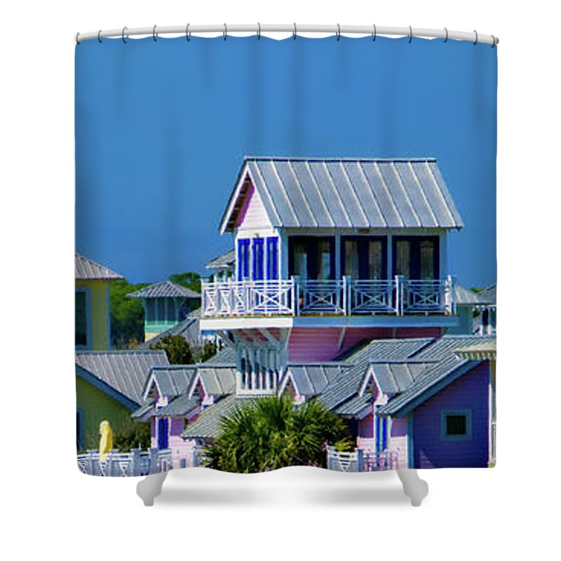 Seaside Florida Shower Curtain featuring the photograph Seaside by Doug Sturgess