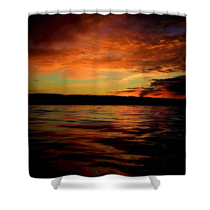 Sunrise Shower Curtain featuring the photograph Secrets by Mitch Cat