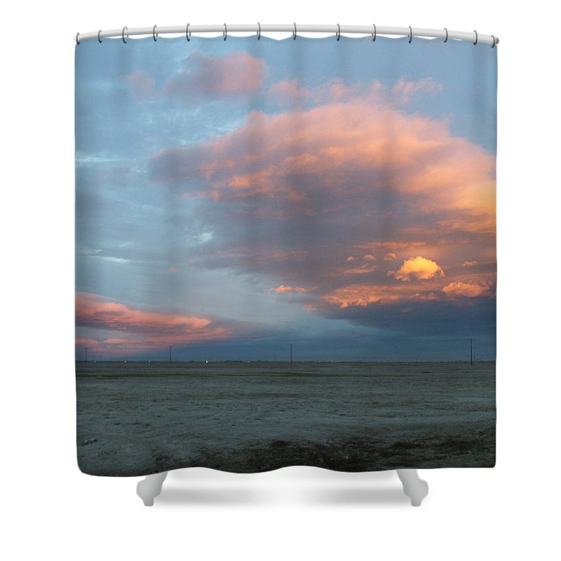 Desert Shower Curtain featuring the photograph Self-abandoned by Shari Chavira