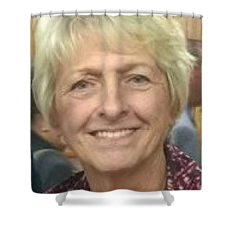 Shower Curtain featuring the photograph Self Photo by Carol Denmark