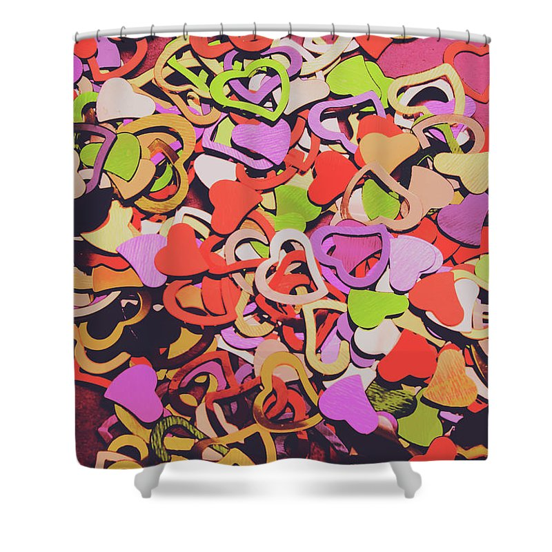 Love Shower Curtain featuring the photograph Sentimental Heart by Jorgo Photography - Wall Art Gallery