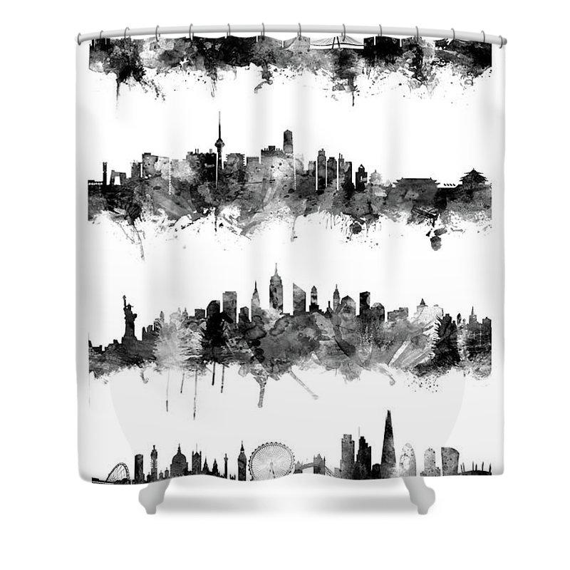 Beijing Shower Curtains