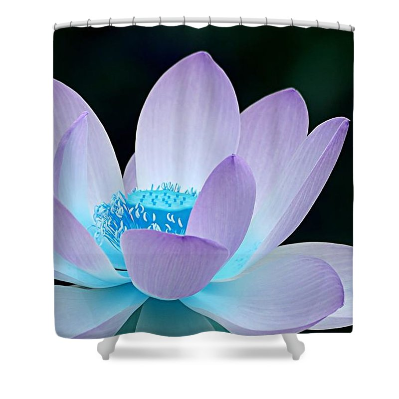 Flower Shower Curtain featuring the photograph Serene by Jacky Gerritsen