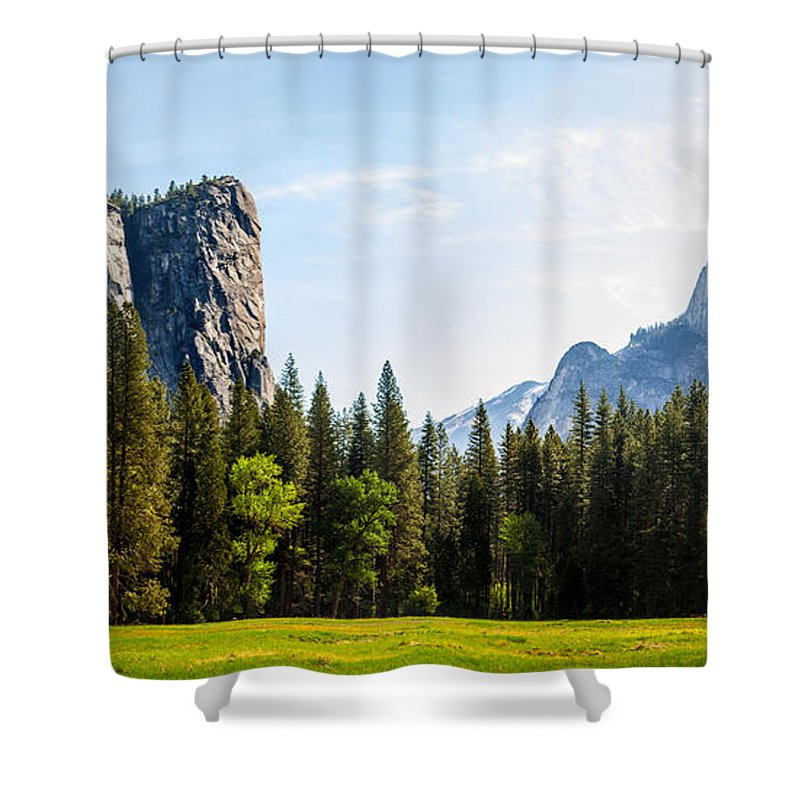 United States Of America Shower Curtain featuring the photograph Serenity by Az Jackson